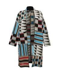 Antonio Marras Multicolor Geometric Print Jacket