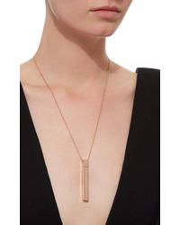 Diane Kordas - Pink Amulette Pendant With Diamonds - Lyst