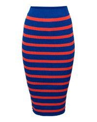 Baum und Pferdgarten | Orange Catalina High Waist Skirt | Lyst