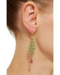 Mallary Marks - Green Kite Earrings - Lyst