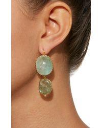 Renee Lewis - Metallic Antique Emerald Earrings - Lyst