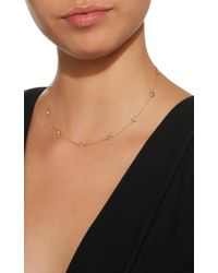 Renee Lewis - Metallic Antique Cinnamon And Pinkish Diamond Necklace - Lyst