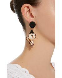 Rebecca de Ravenel - Ophelia Black Earrings - Lyst