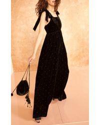 Ulla Johnson Black Fleur Bag
