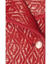 Temperley London Red Vera Coat