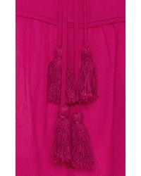 Apiece Apart - Pink Capellina Silk Blouse - Lyst