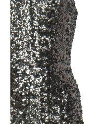 Alexis Metallic Carleen Sequined Strapless Jumpsuit