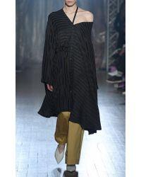Palmer//Harding Black Jasmin Asymmetric Dress