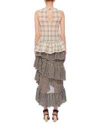 Isa Arfen - Black Tiered Ruffled Skirt - Lyst