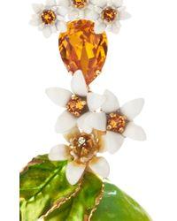 Dolce & Gabbana - Green Lemon Resin Earrings - Lyst