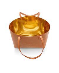 Mansur Gavriel - Brown Leather Tote Bag - Lyst