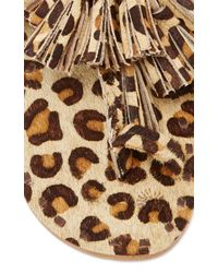 Figue - Multicolor Leopard Haircalf Sandals - Lyst