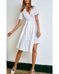 Alexis - White Vivien Short Dress - Lyst