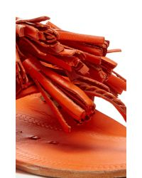 Figue Orange Hot Clementine Scaramouche Sandal