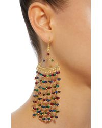 Rosantica Metallic L'imperatrice Gold-tone Quartz Earrings