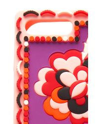 Emilio Pucci Red Floral Iphone 7 Case