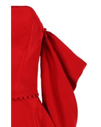 Thai Nguyen Atelier - Red The Empress Strapless Top - Lyst