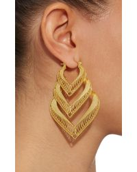 Mallarino - Metallic Kora Sterling Silver And 24k Gold Vermeil Earrings - Lyst