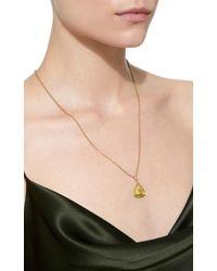Buddha Mama - Green Small Pendant With Gemfields Emeralds - Lyst
