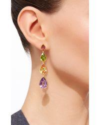 Sanjay Kasliwal - Multicolored Drop Earrings - Lyst