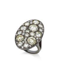 Colette - White Xl Les Chevalier Diamond Ring - Lyst