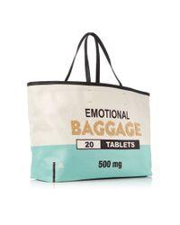 Sarah's Bag - Blue Dr. Sam Baggage Travel Tote - Lyst