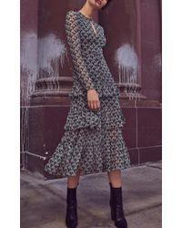 Alexis Gray Junno Tiered Dress
