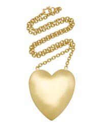 Irene Neuwirth Metallic 18k Gold Necklace