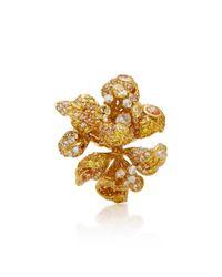 Anabela Chan - Metallic Bloomingdale 18k Gold Diamond Ring - Lyst