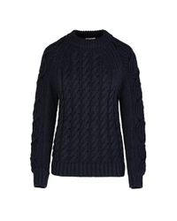 Giuliva Heritage Collection Blue The Lea Sweater Linen Knit