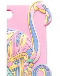 Emilio Pucci Purple Iphone7 Plus Case