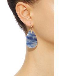 Annette Ferdinandsen - Blue 18k Gold Sapphire Earrings - Lyst