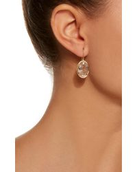 Jamie Wolf - Metallic M'o Exclusive Oval Drop Earring - Lyst