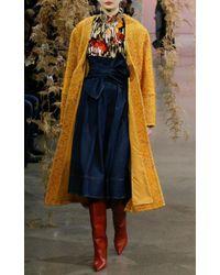 Ulla Johnson - Blue Virgil Tie-front Denim Skirt - Lyst