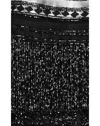 Naeem Khan - Black Tea Length Cocktail Dress - Lyst
