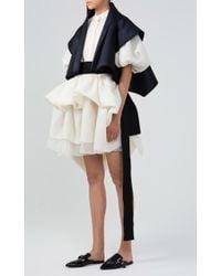 Dice Kayek Multicolor Layered Mini Skirt