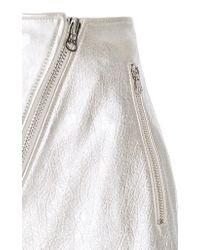 Current/Elliott Metallic The Belen Mini Skirt
