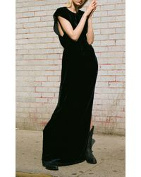 Nili Lotan Blue Lillian Dress