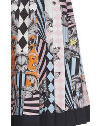 Versace Multicolor Printed Bustier One Piece Swimsuit