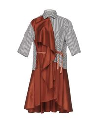 Palmer//Harding Multicolor Ripple Mini Dress