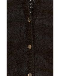 Ulla Johnson Black Deina Cardigan