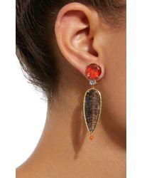 Daria de Koning - Black Caliente 18k Yellow Gold Multi-stone Earrings - Lyst