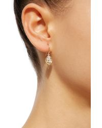 Annette Ferdinandsen - Metallic Dayflower 18k Gold Pearl Earrings Earrings - Lyst
