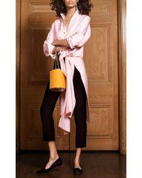 Rebecca de Ravenel - The Ming Shirt In Pale Pink - Lyst