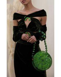 Cult Gaia - Green Natasha D Ring Dress - Lyst