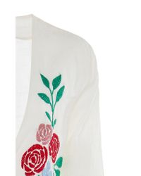 Carolina K Multicolor Rosa Wrap Dress