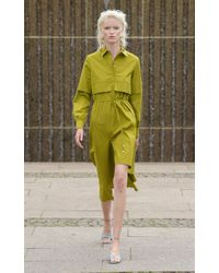 MYKKE HOFMANN Green Kaleva Dress