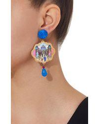 Anna E Alex Blue Circo Backstage Earrings