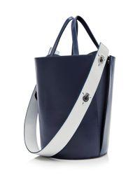 Danse Lente Blue Mini Lorna Bucket Bag
