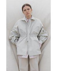 Deveaux Multicolor Cinched Jacket